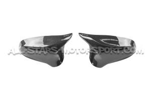 Coques de retroviseurs Akrapovic carbone pour BMW M3 F80 / M4 F8x / M2 Comp