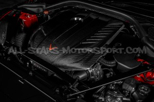 Couvre moteur carbone Eventuri pour Toyota Supra A90