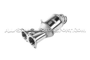 Downpipe descatalizada Wagner Tuning para 135i E8x / 335i E9x N55