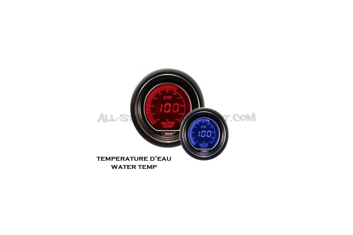 Manometre de temperature d'eau Prosport Evo