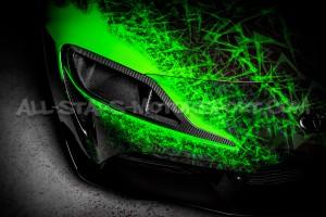Toyota Supra A90 Eventuri Carbon Fiber Headlamp Duct