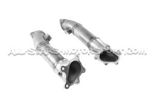 Alpha Performance Decat Downpipes for Nissan R35 GTR