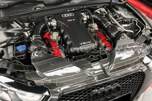 Audi RS5 B8 Eventuri Carbon Fiber Slam Panel Cover