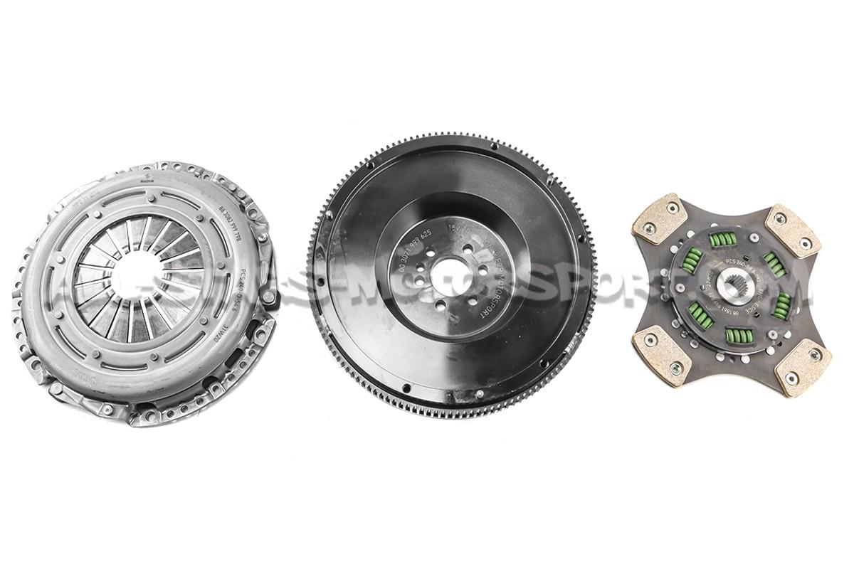 Embrague reforzado Sachs 600Nm con volante motor para Golf 5 GTI / GTI Edition / Scirocco R