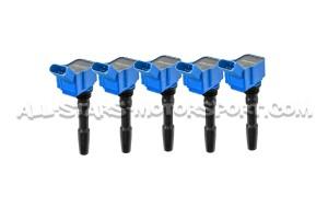 Bobinas de encendido APR azul para Audi RS3 8.5V y TTRS 8S 2.5 TFSI