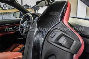 Couvre coque de siège Eventuri carbone pour BMW M3 F80 / M4 F8x / M2 Comp