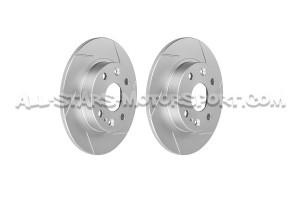 Disques de frein arrieres rainurés Dixcel SD pour Mazda MX5 NA 1.6