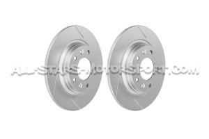 Discos de freno delanteros ranurados Dixcel SD para Mazda MX5 NC