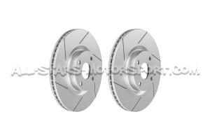 Discos de freno delanteros ranurados Dixcel SD para Mazda MX5 ND 2.0