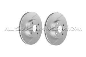 Discos de freno delanteros ranurados Dixcel SD para Mazda MX5 NA / NB 1.8