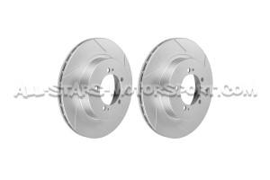 Disques de frein arrieres rainurés Dixcel SD pour Mitsubishi Lancer Evo 7 / Evo 8 / Evo 9