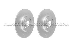 Disques de frein arrieres rainurés Dixcel SD pour Mazda MX5 ND 2.0