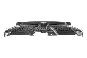 Tapa de radiador / difusor de aire de carbono Eventuri para Audi RS4 B8